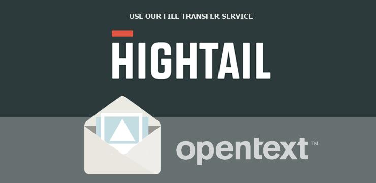 hightail upload