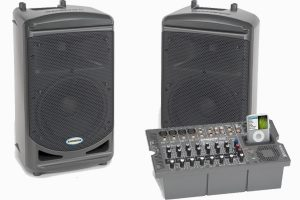 500 watt powered speakers