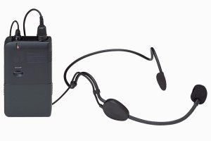 Wireless headset mic